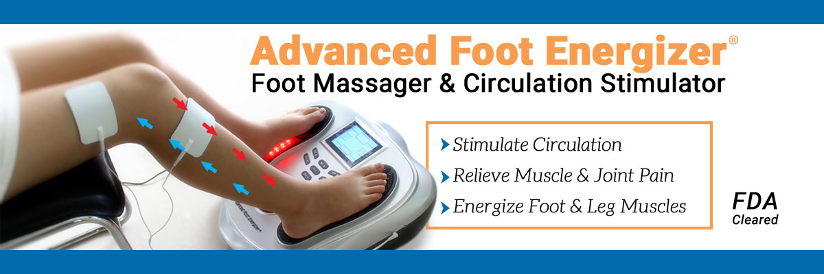 Advanced Foot Energizer Banner Ad
